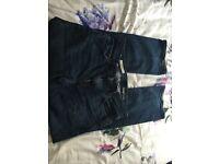 "GAP men's jeans - dark blue boot cut style - 32"" X 32"" - good condition"