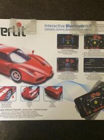 Ferrari Bluetooth radio controlled car