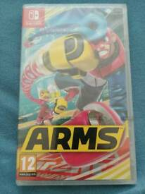 Arms Sealed game for Nintendo Switch
