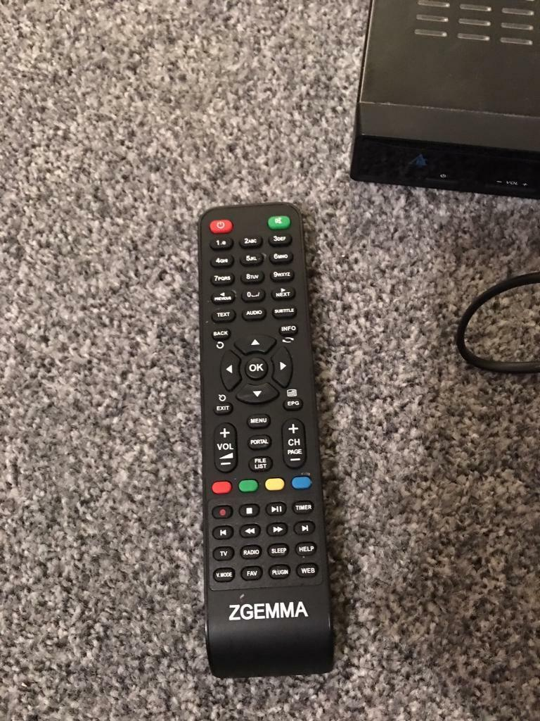 Zgemma Star 2S Remote | in Huddersfield, West Yorkshire | Gumtree