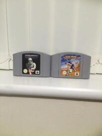 N64 Starwars games