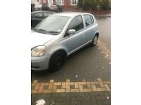 toyota yaris T3 998cc in blue easy fix look