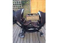 O baby zoom twin buggy