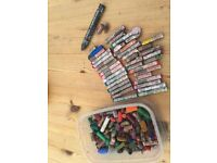 Box of Oil Pastels & graphite pencil. £2.50. Torquay or can post.