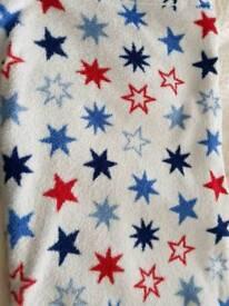 Fleece blanket bundle