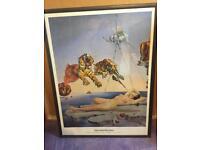 "Salvador Dahli ""Sting caused by the flight of a bee"" Original print"