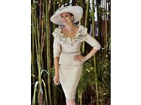 Ian Stuart ISL 566 Mother of the Bride outfit Size 10