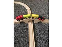Ikea train track with train
