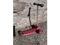 Red Scooter, excellent condition £15