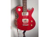 Avion 1 signature series rare red electric guitar