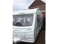 coachman pastiche 460 2009 2 berth with awing and motor mover