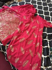 Shalwar Suit - Red