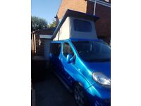 Vauxhall vivaro 4 berth poptop campervan brand new conversion low mileage camper