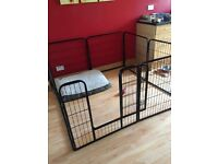 Pet run / large cage can be used indoor or outdoors, only used for 4 weeks for a litter of puppies