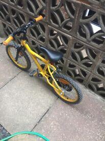 Boys 18inch bike