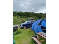ISUZU TROOPER 4x4 overland camper