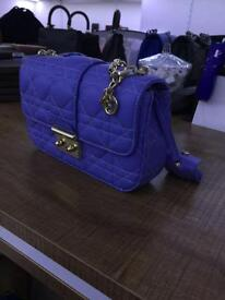 Periwinkle blue Dior bag for sale