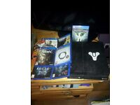 PS4 boxed with 7 games
