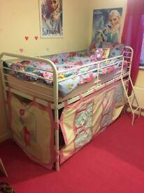 Children's midsleeper bed