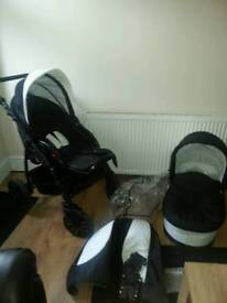 pram and buggy 2 in 1