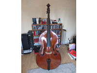 Stentor double bass 3/4 size