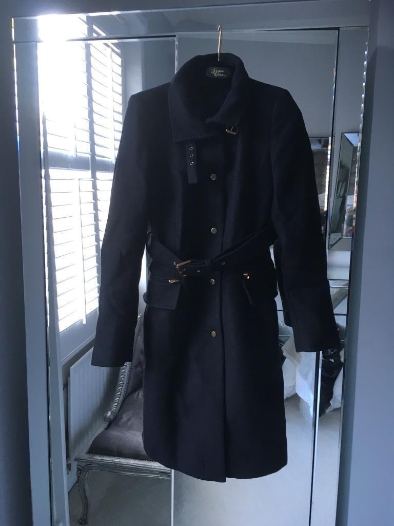 f4d5d426 Zara Woman Black Wool Full Length Coat | in Angel, London | Gumtree