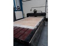 SPANDEX CNC ROUTER 2500 X 1300 -