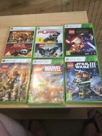Xbox 360 Lego games joblot
