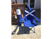 2 x Scotland festival, camping, picnic folding chairs