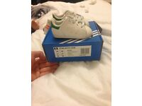 Baby adidas Stan smith trainers