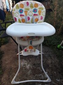 GOOD PRICE - Baby High chair - Graco baby feeding chair
