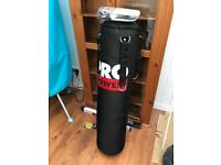Pro Power 4ft Punch Bag and Gloves