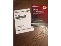 CGP GCSE Core Science Revision Guide with Answers
