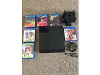 Boxed PS4 and games