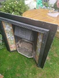 Original Victorian cast fire back