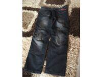 Men's motorcycle jeans