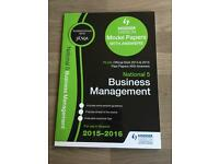National5 Business Management Pastpaper book £4