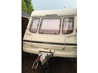 1997 4 berth swift Concorer twin axle L shaped seating