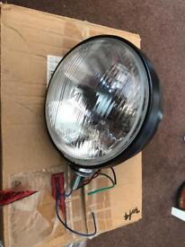 Pair Fordpop/kitcar headlamps