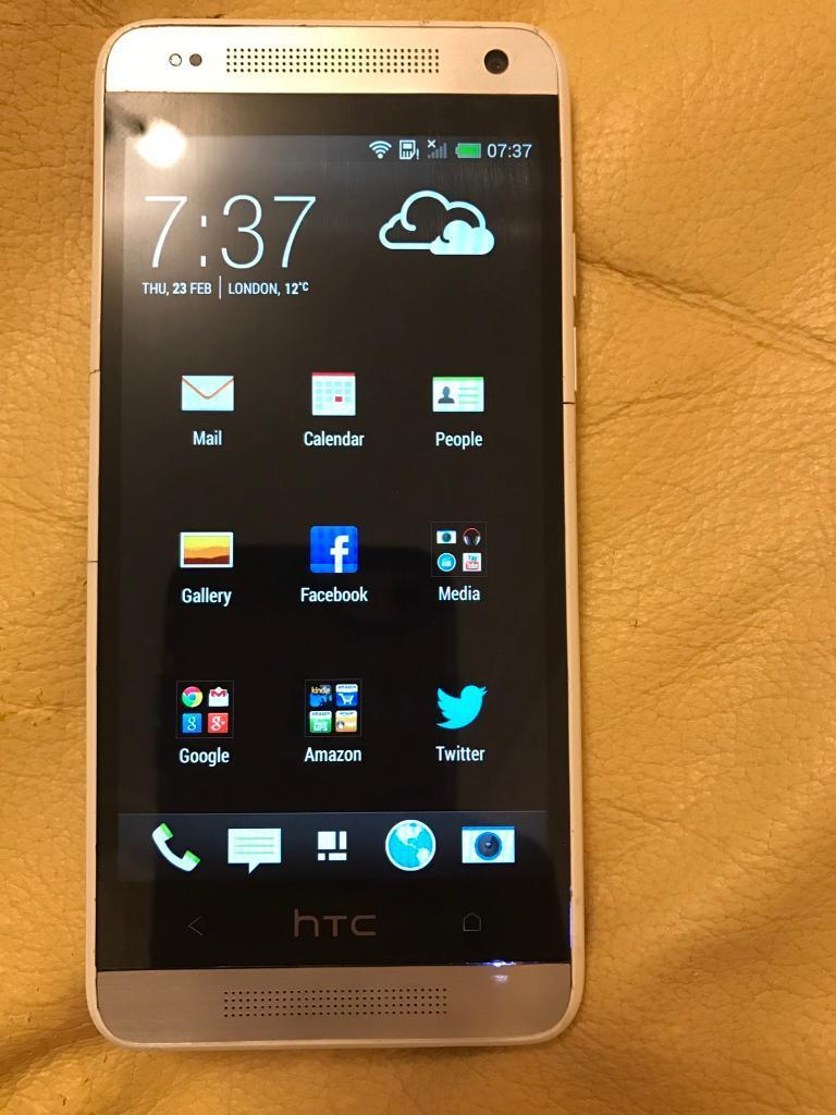 HTC One, Unlocked Android phone50 onlyin Newham, LondonGumtree - Android Smartphone Unlocked to all networks Fully working order Very good condition Comes with free genuine HTC flip caseFree charging cord brand new Compatible with all latest apps Can be collected from East Ham or Beckton Station Strictly no offers...