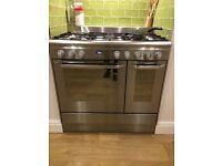 Dual fuel range cooker for sale