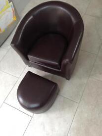 Child's tub chair