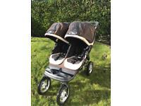 Baby jogger city mini elite GT double pushchair for sale