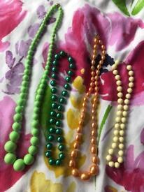 Bead necklace bundle