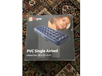 Hi Gear PVC Single Inflatable Air bed Boxed Brand New