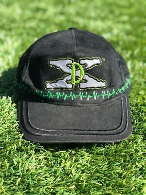 Rare VTG 90s WWE Raw is War D Generation X Wrestling Shallow Baseball Hat Cap