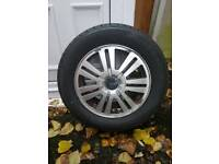 Ford S Max rim with brand new tyre