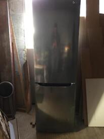LG Fridge Freezer, frost free, dark steel