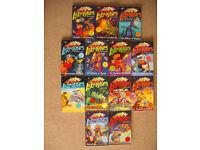 Astrosaurs Book Set by Steve Cole (13 Books)