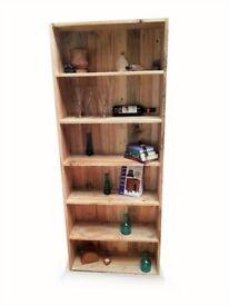 Pallet furniture Handmade bookcase unit - DIY Project